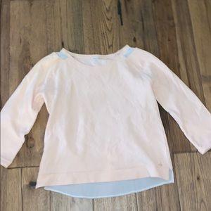 Pink 3/4 Sleeve Calvin Klein Sweater